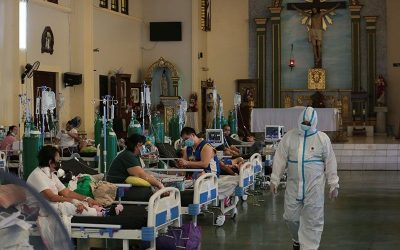 Philippines logs new record-high 18,332 COVID-19 cases